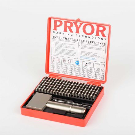 Pryor Handstansar Alphanumeric Set