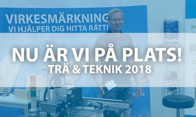 På plats – Trä & Teknik 2018