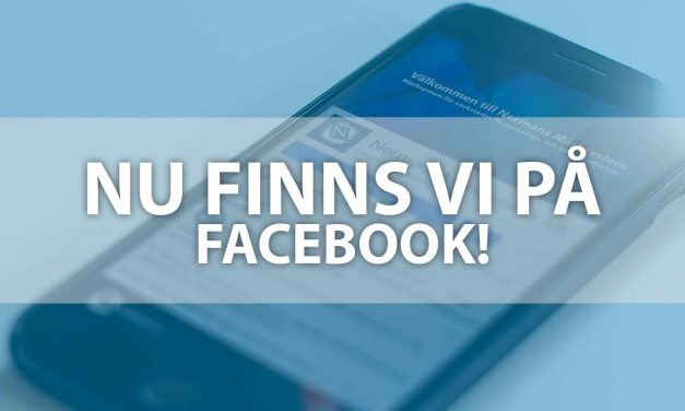 Nu finns vi på Facebook!