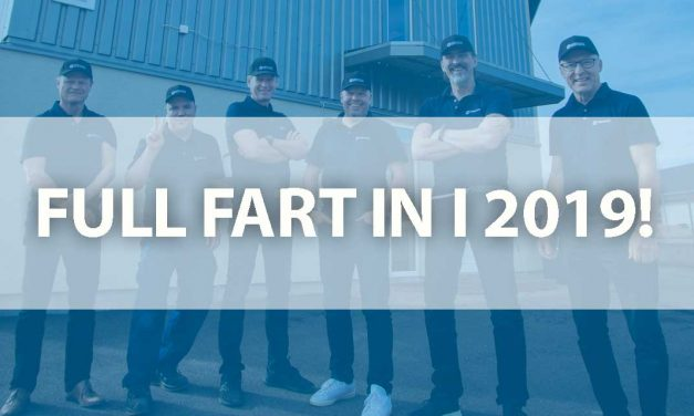 Fullt fart in i 2019!