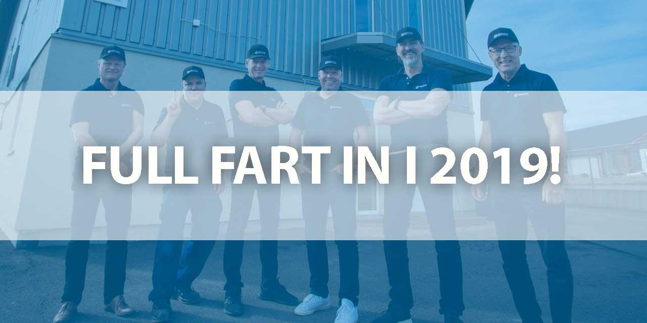 Fullt fart in i 2019!