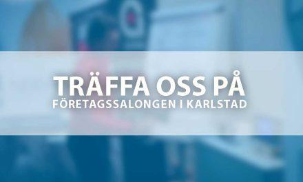 Träffa oss på Företagssalongen i Karlstad