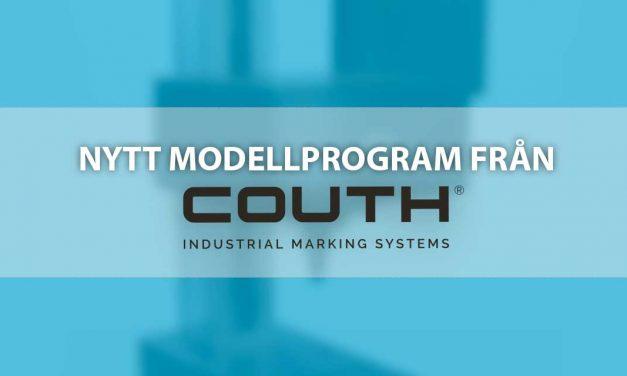 Nytt i sortimentet! COUTH®s nya modellprogram!