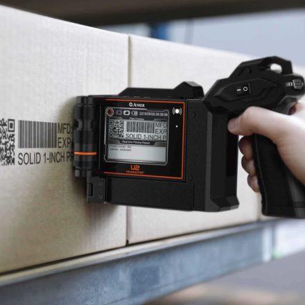 Anser U2 Mobile ONE - Mobil, handhållen bläckstråleskrivare för flexibel märkning